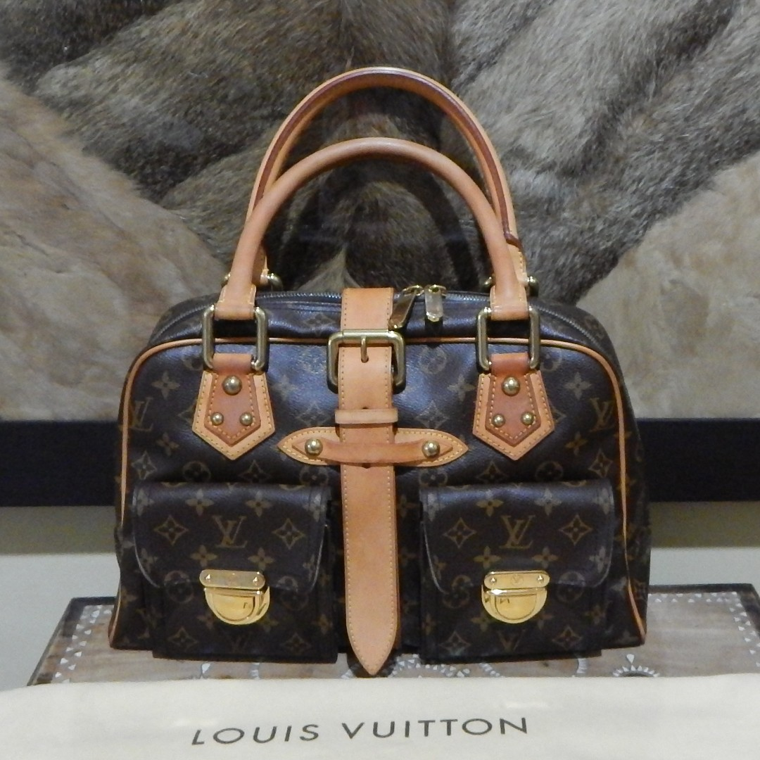 LOUIS VUITTON mono manhattan GM bag