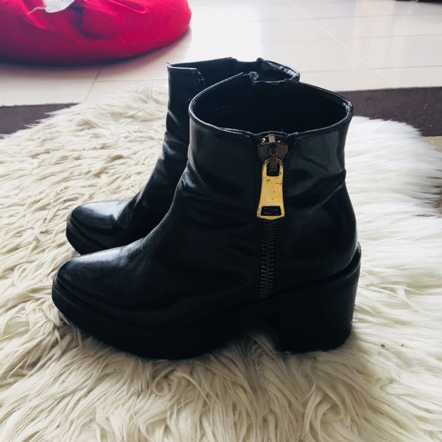[LOWEST PRICE EVER] River Island Leather Ankle Boots