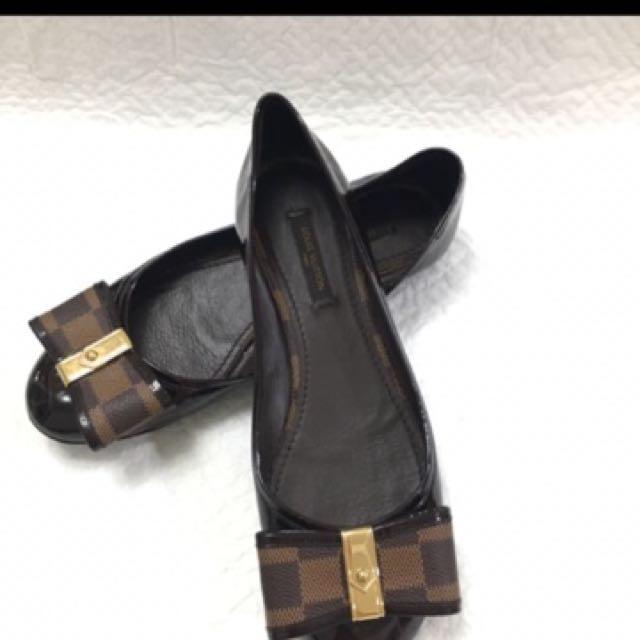 Lv正品鞋穿起優雅鞋型優美36.5約89成新