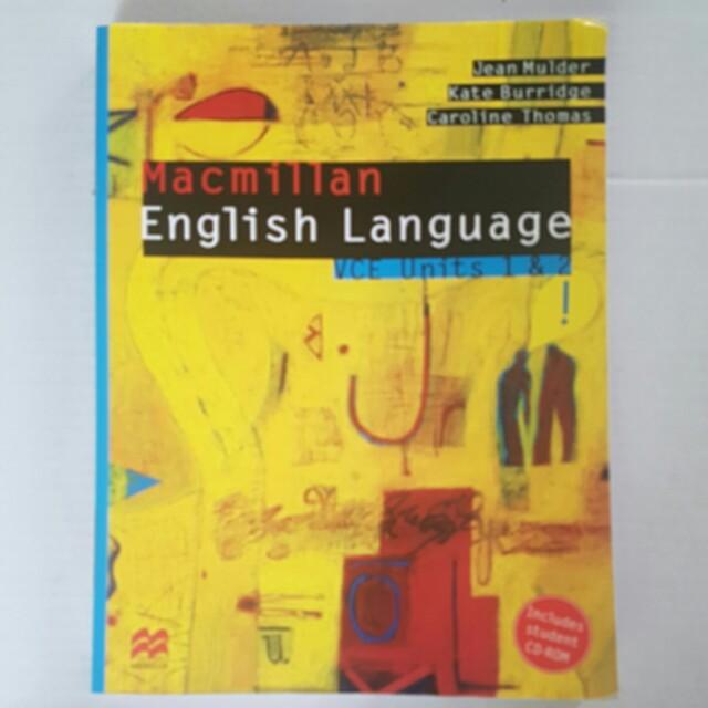 Macmillan English Language Units 1&2 VCE
