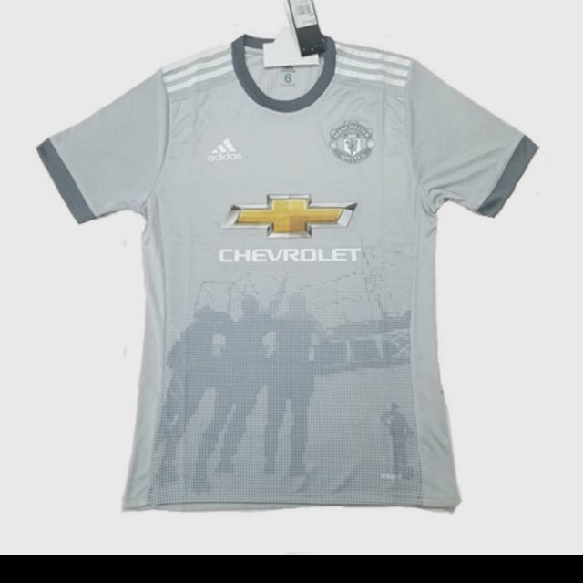 outlet store dbd11 8c22f Manchester United 2017/2018 Third Kit Jersey, Sports, Sports ...