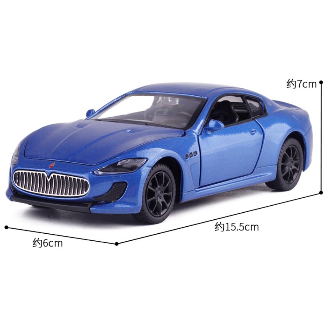 Maserati 瑪莎拉蒂 跑車 聲光 迴力 藍色 紅色 白色 1:32 預購 阿米格Amigo