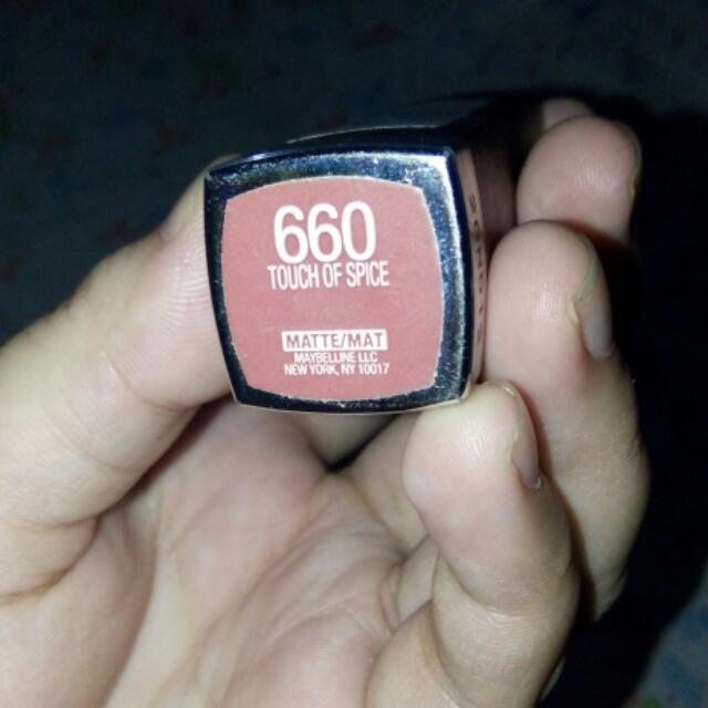 Maybelline Creamy Matte (Touch of Spice)