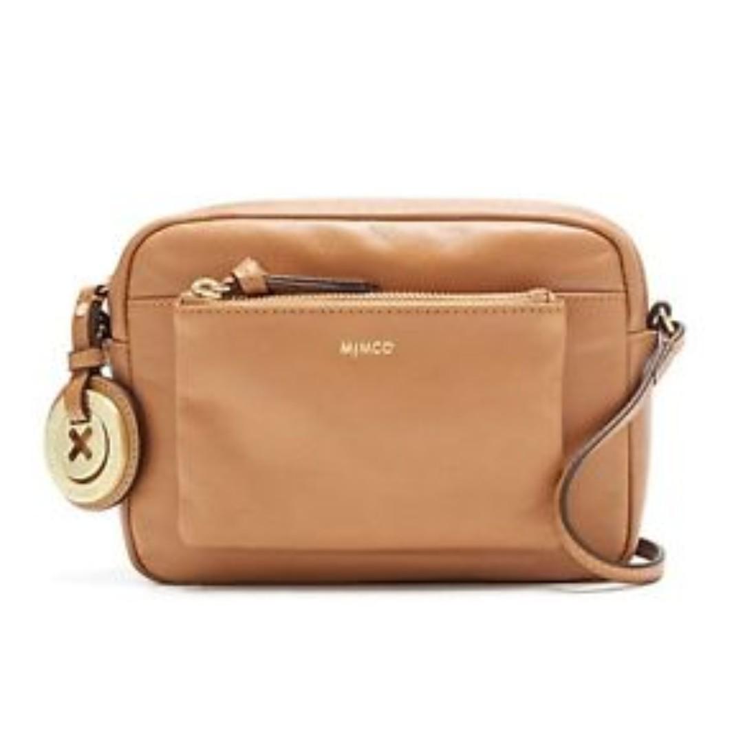 Mimco Supernatural Box Hip Bag in Brown