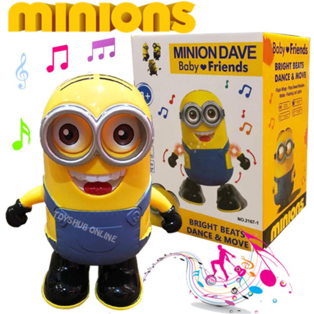Minion Toy Cute Dancing Battery Operated With Sound Toys Action Figure Games Other On Carousell