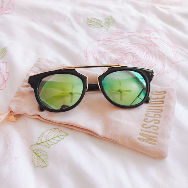 Missguided Reflective Sunglasses