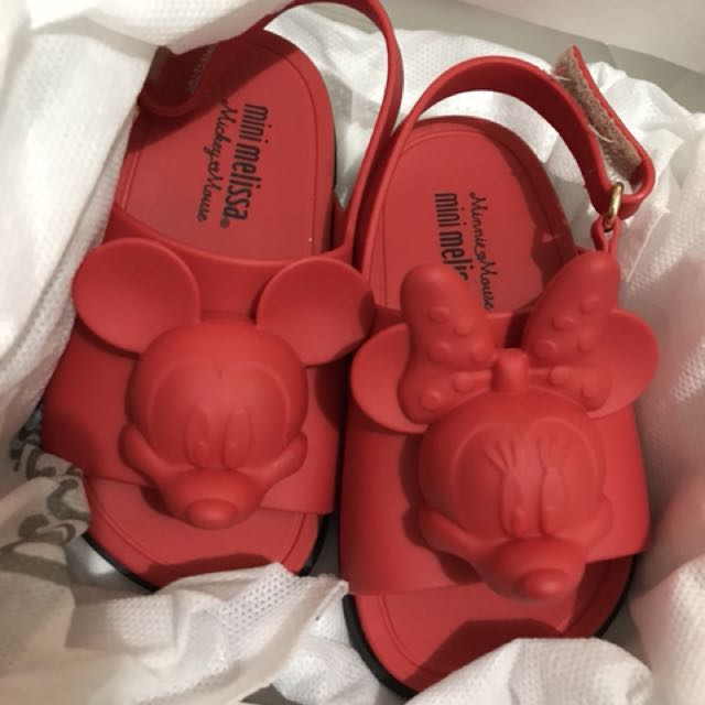 MM Disney Slide Red Size 6