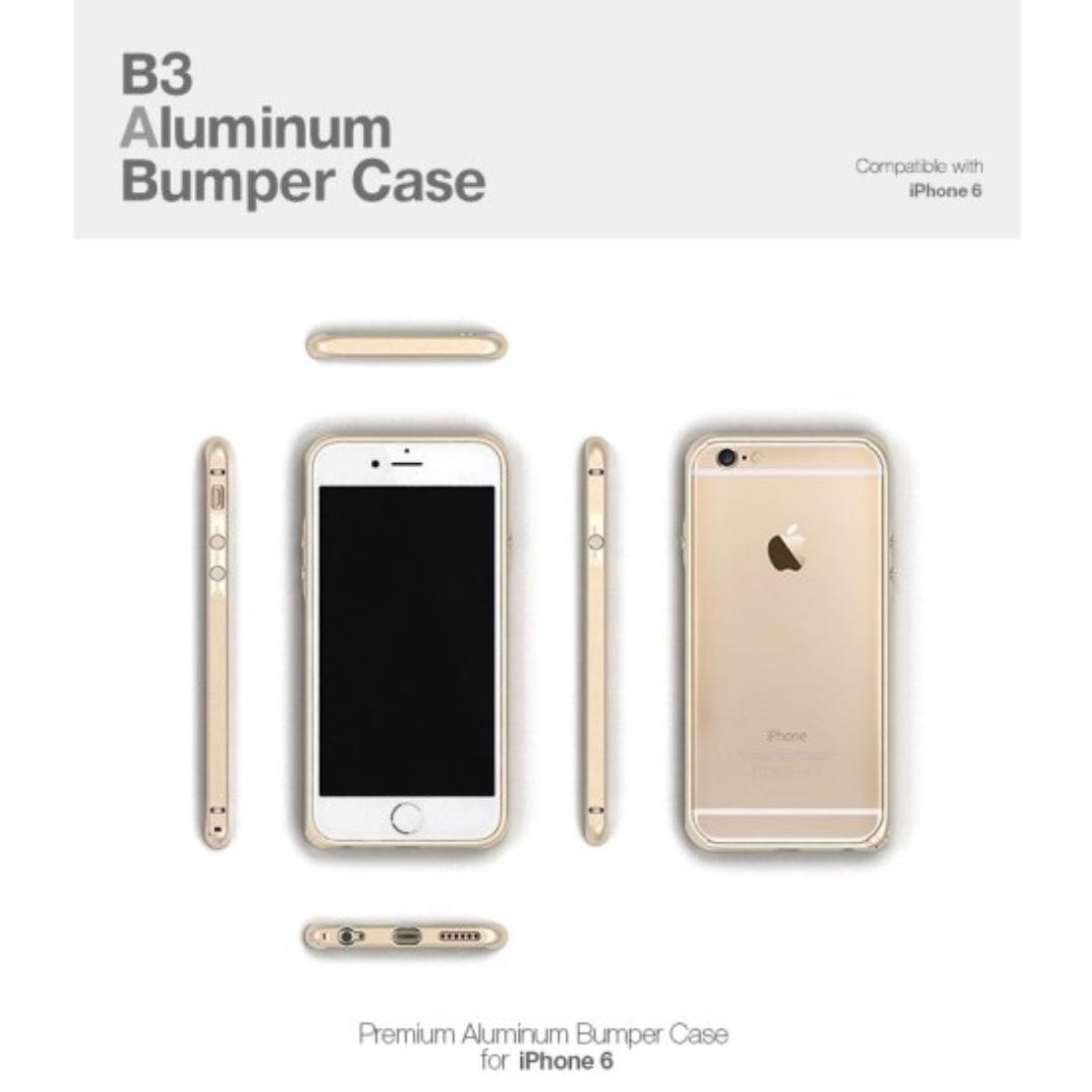 Mode Edge B3 Space Gray Premium aluminum bumper iPhone 6