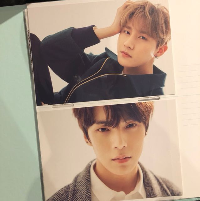 Monsta x seasons greetings 2017 photocarda