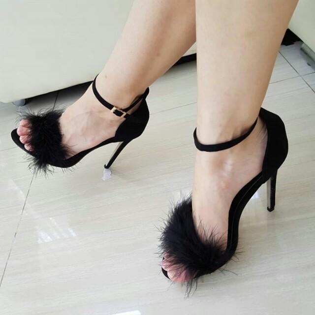New! Fur Heels size 35, 36, 37, 38, 39, 40