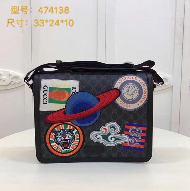 dddac28f81eb Night Courrier GG Supreme flap messenger, Men's Fashion, Bags & Wallets,  Wallets on Carousell