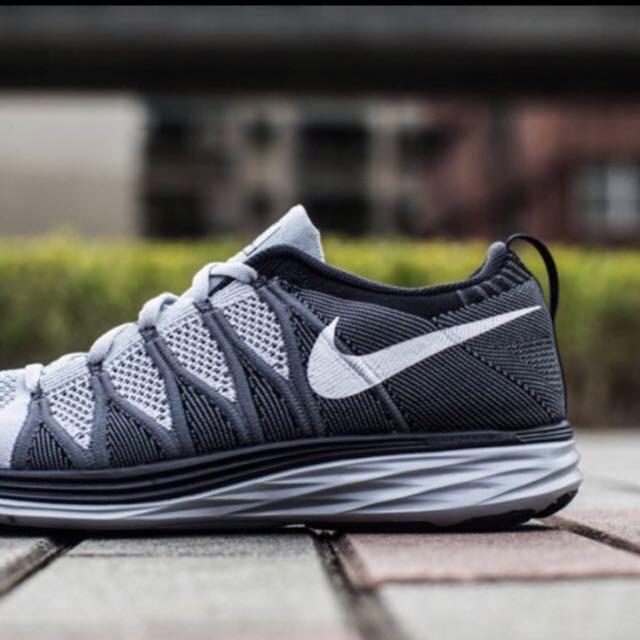 cálmese matriz autómata  Nike lunar flyknit 2 wolf grey, Men's Fashion, Footwear on Carousell