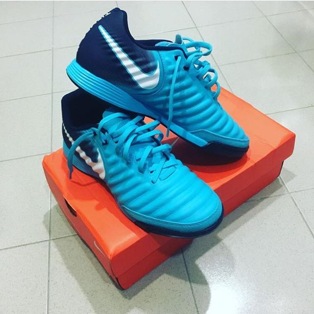 9d9df66433c4a Nike Tiempo Ligera Futsal Shoes, Sports, Other on Carousell