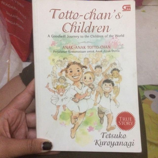 novel totto chan children by tetsuko kuroyanagi