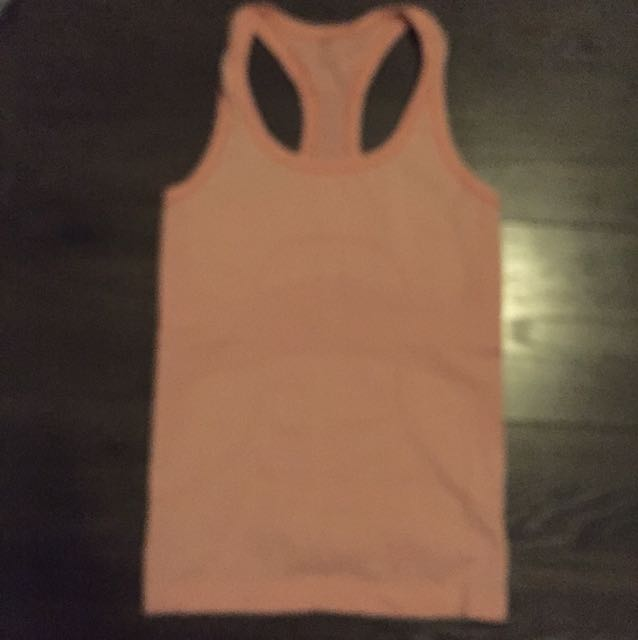 Orange Lululemon tank