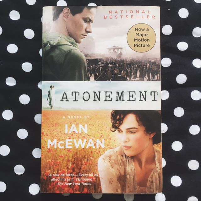 PAPERBACK: Atonement by Ian McEwan