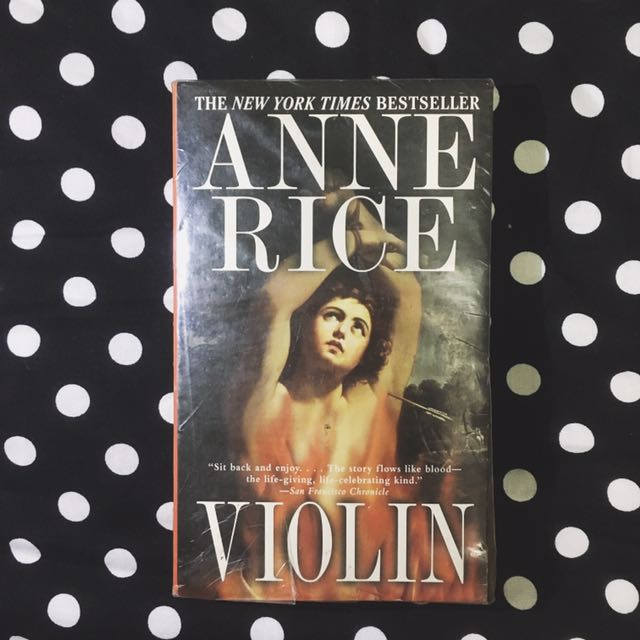 PAPERBACK: Violin by Anne Rice
