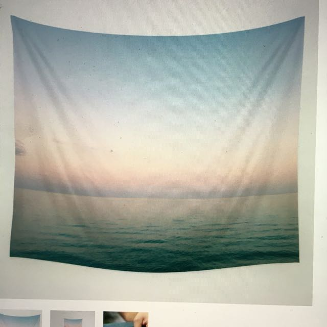 Pastel ocean Wall Tapestry from Society 6