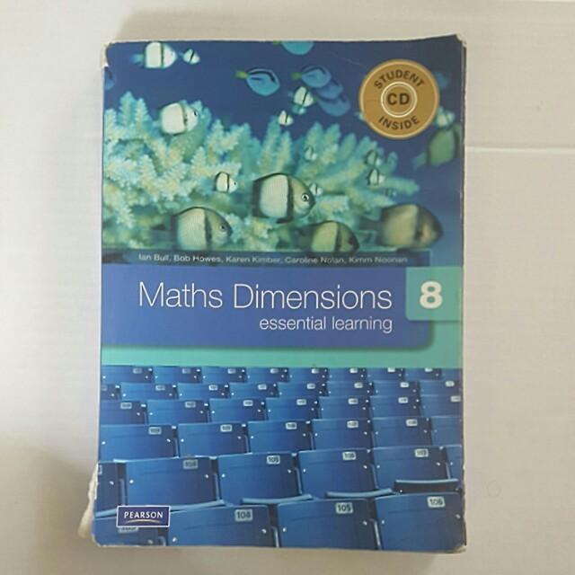 Pearson Maths Dimensions Year 8