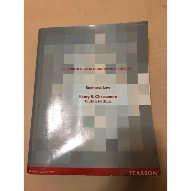 Pearson new international edition
