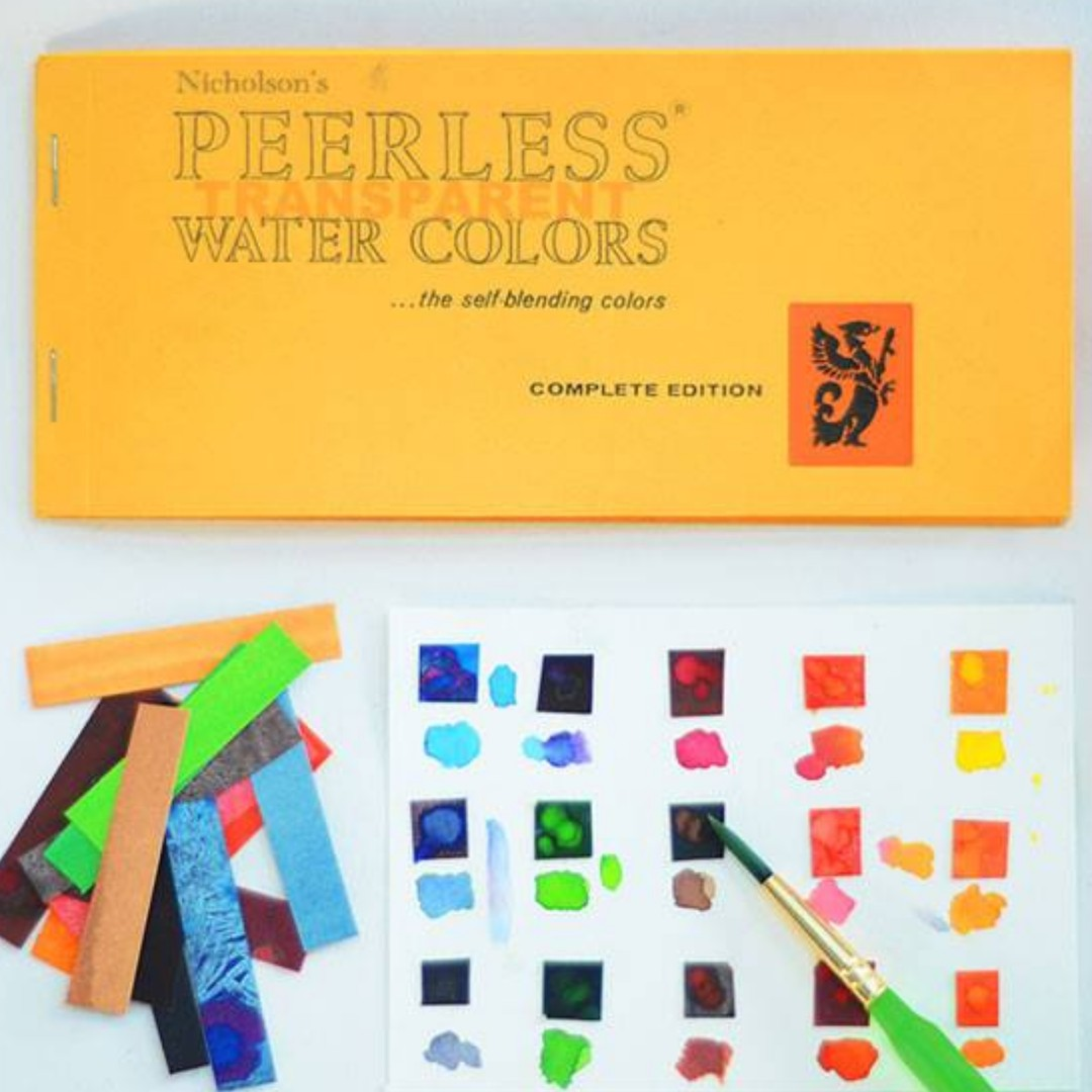 Peerless Watercolor Basic Book of 15