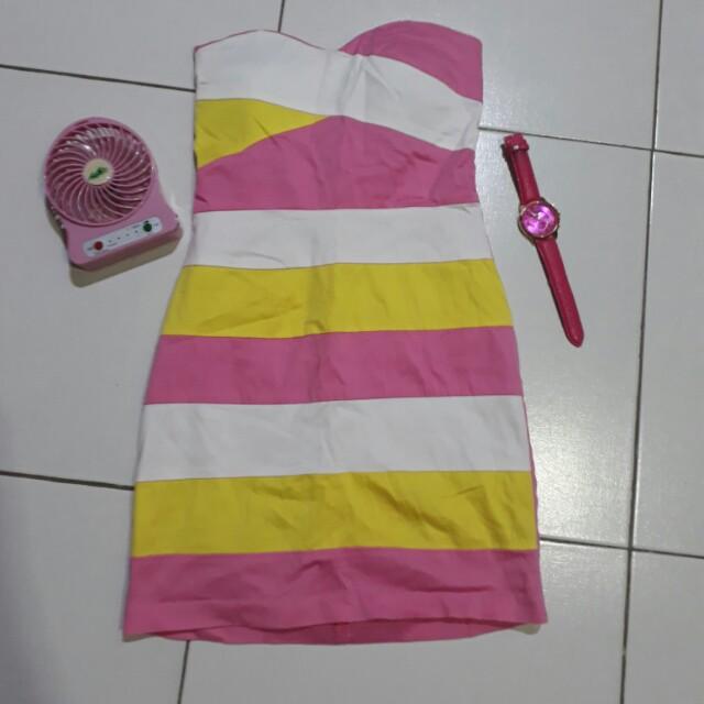 Pink chic dress
