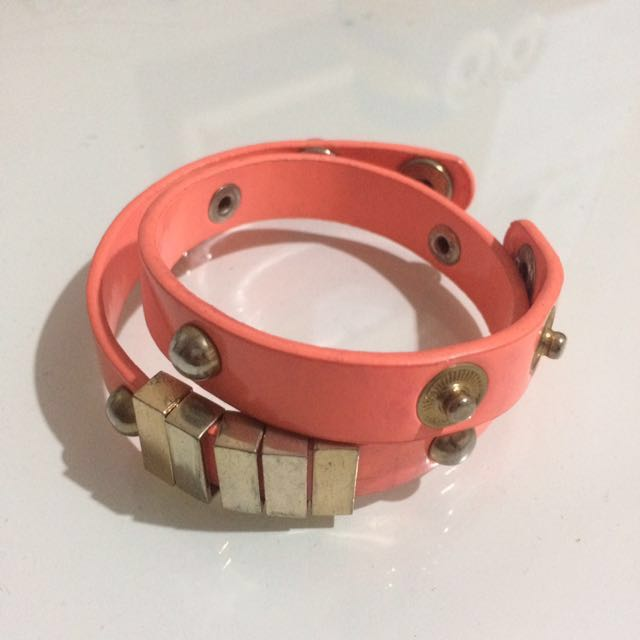 Pink Layer Bracelet