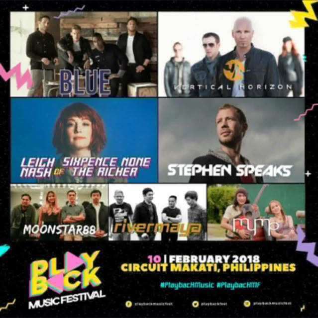 Playback Music Festival Tickets