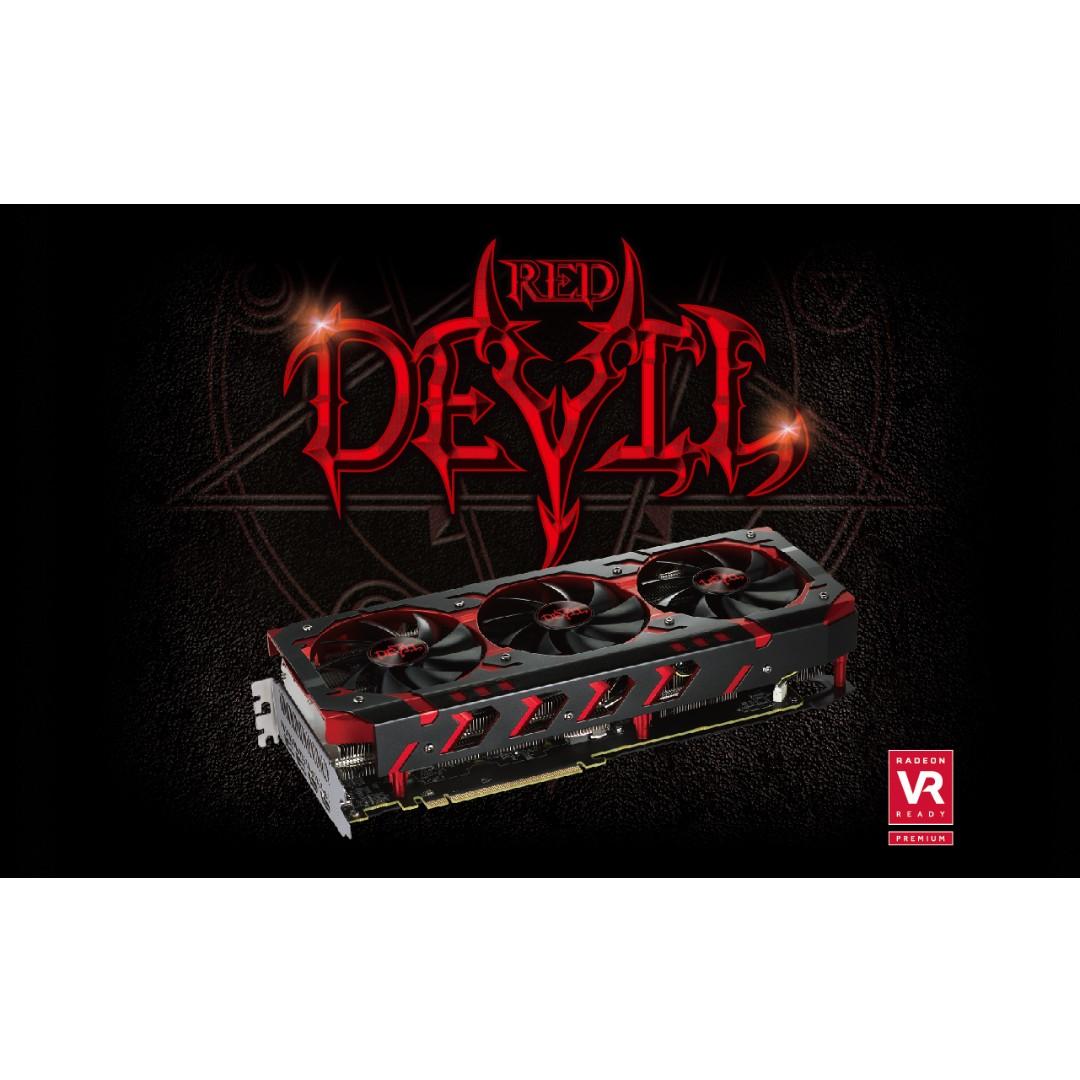 Powercolor Rx Vega 64 Red Devil 8gb Hbm2 Oc Vga Card Electronics Radeon 570 4gb Gddr5 Computer Parts Accessories On Carousell