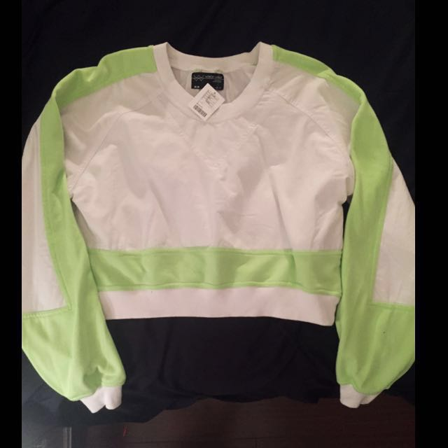 Retro Crop Sweater