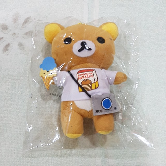 Rilakuma limited edition toy (rilakuma x canon