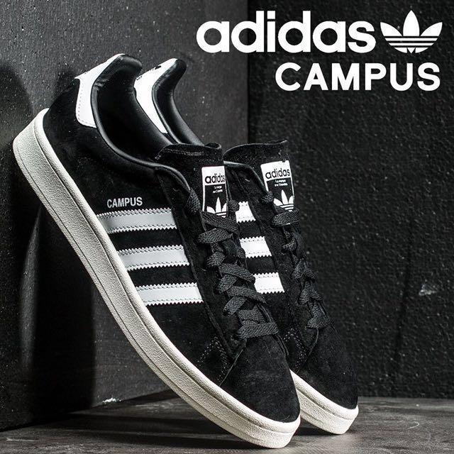 SALE 💥 UK 9 \u0026 10 Adidas Campus Black
