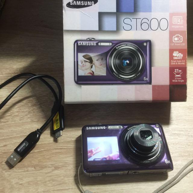 Samsung三星 ST600自拍神器雙螢幕數位相機