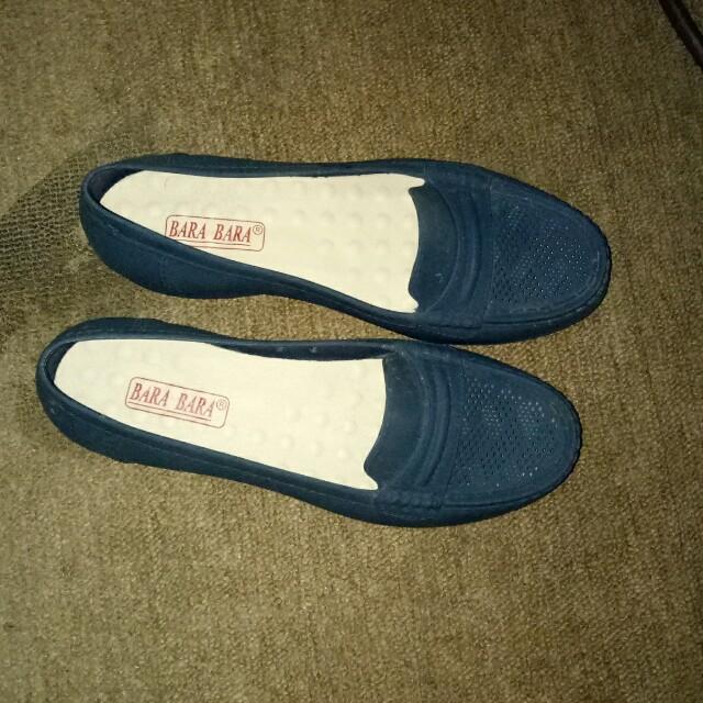 Sepatu jelly bara bara