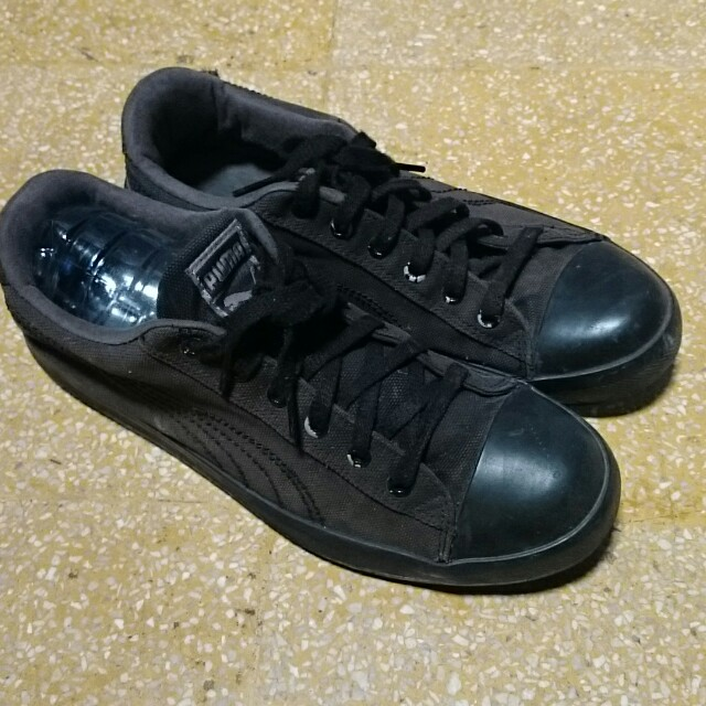 Sepatu puma clasicc black