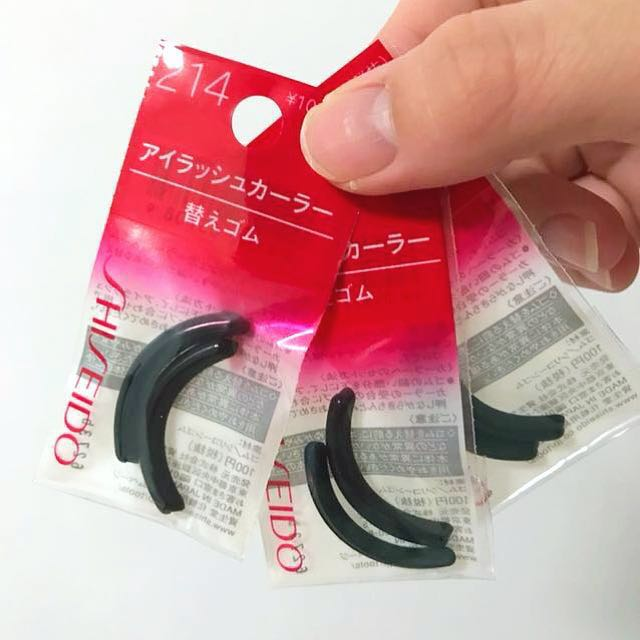 Shiseido Eyelash Curler Pad Refill Health Beauty Makeup On Carousell