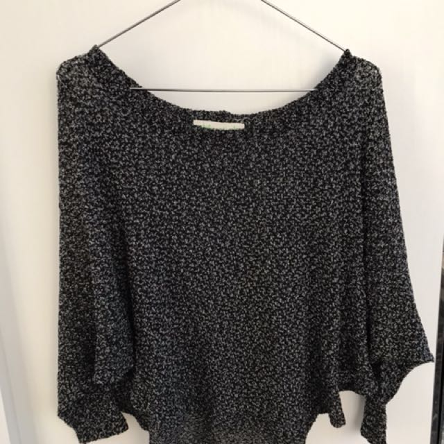 Small Urban Outfitters Knit Mid-Length Top