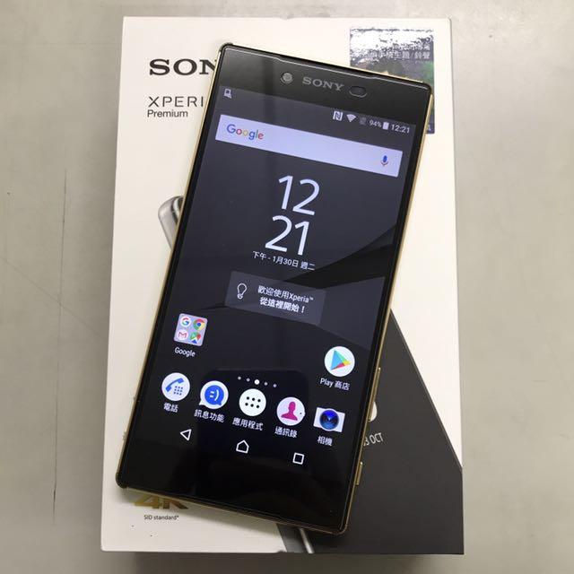 SONY Xperia Z5 Premium 金色!