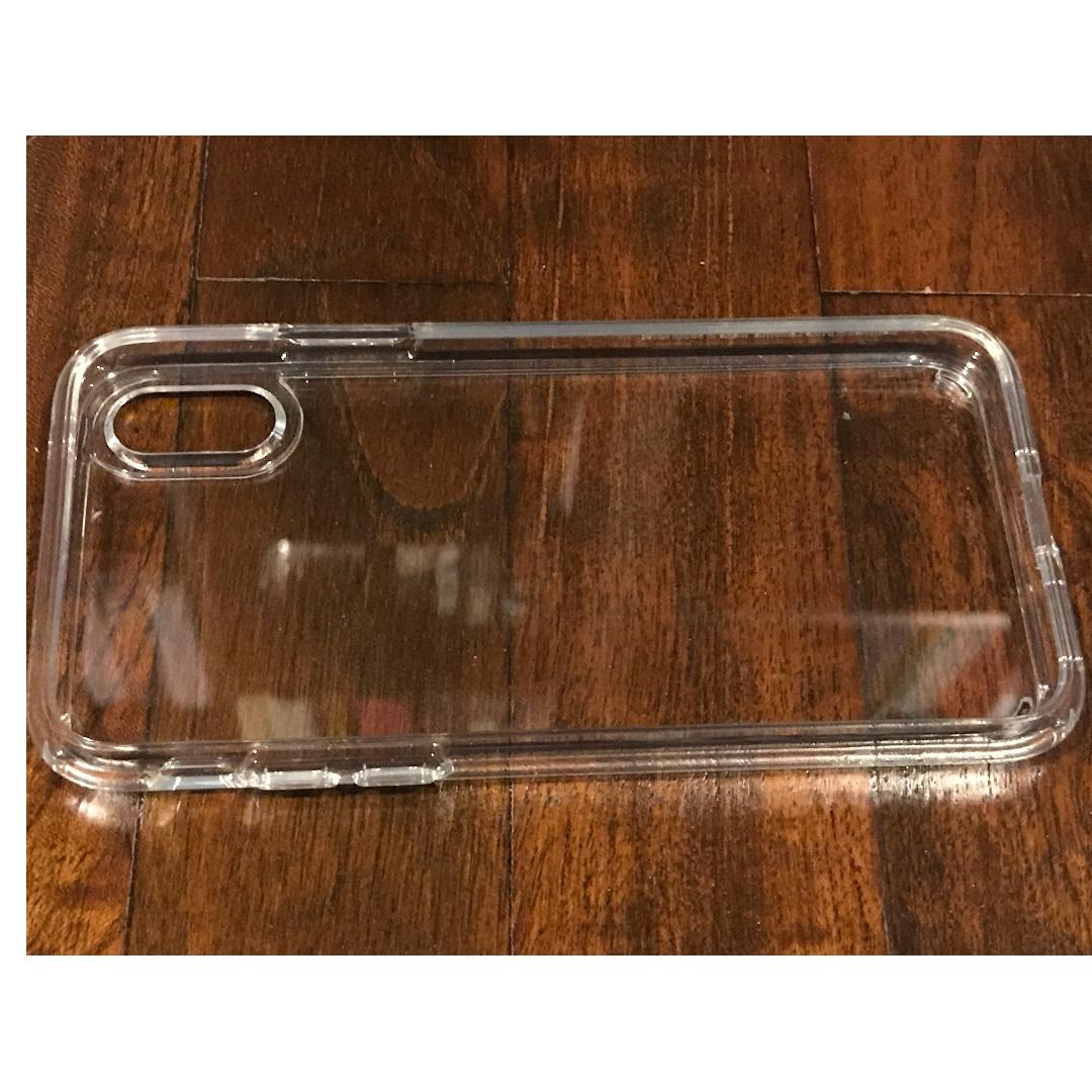 Spigen iPhone X clear cover