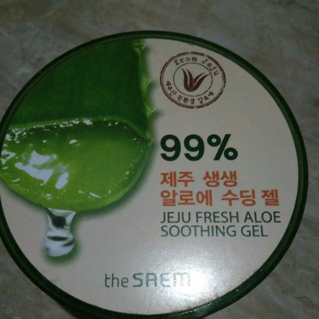 The saem 99% Jeju Fresh Aloe Vera Soothing Gel