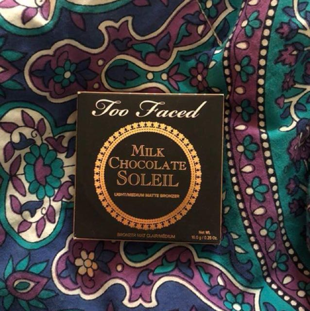 TOOFACED CHOCOLATE BRONZER!