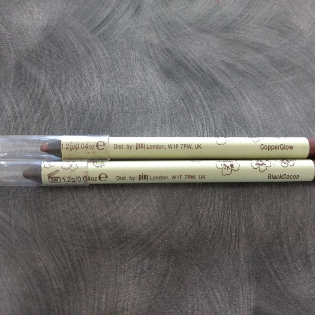 Pixi Endless Silky Eye Pen in Copperglow and Black Cocos