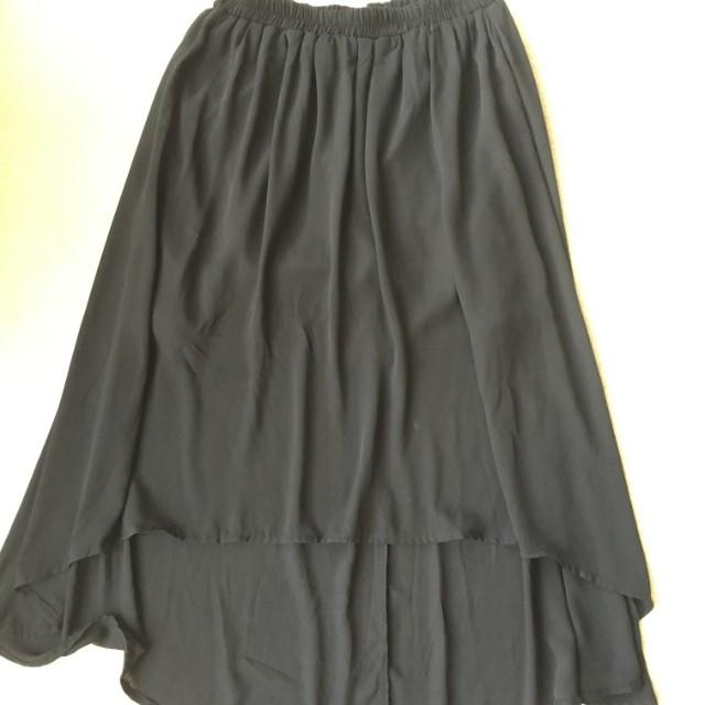 Valleygirl High Low Mesh Skirt Size 8