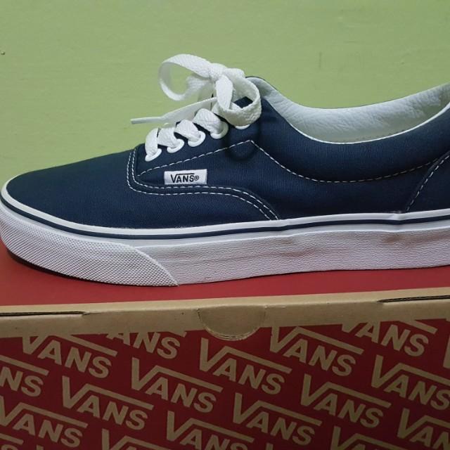 Vans era navy blue authentic unisex
