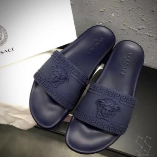 6db9c914cfe732 Versace Sandal Slip On Medusa