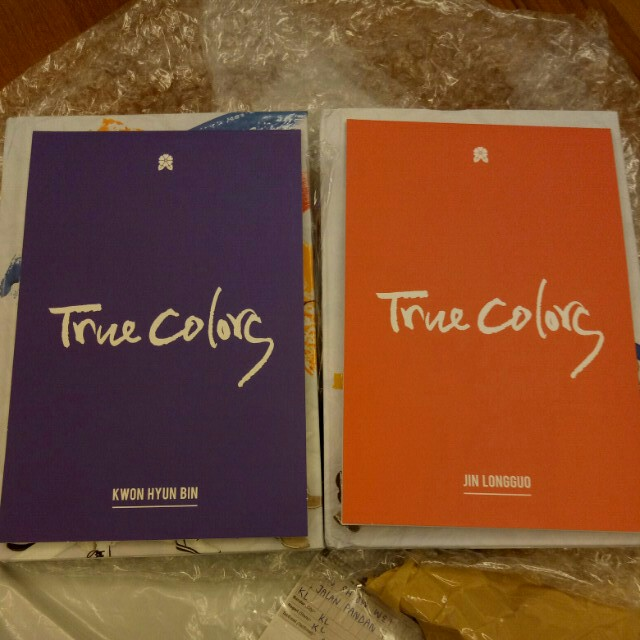 WTT JBJ TRUE COLORS ALBUMS CD / POP-UP CARD / PHOTOSTRIP
