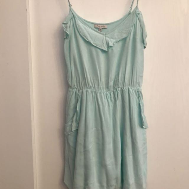 XS Light Blue Aritzia Talula Dress