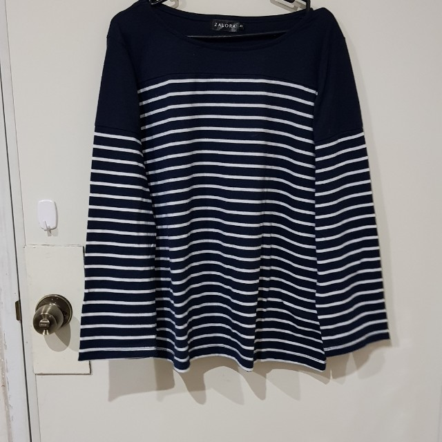 Zalora Stripes Longsleeves