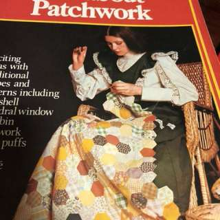 Patchwork book pls add $2 for postage