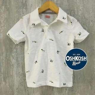 Baju Anak Laki Oshkosh Polo Jersey